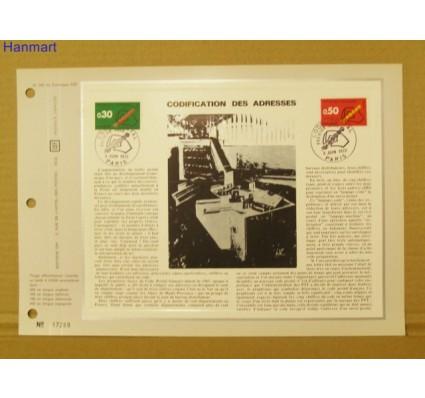 Znaczek Francja 1972 Mi 1795-1796 Pierwszy dzień wydania