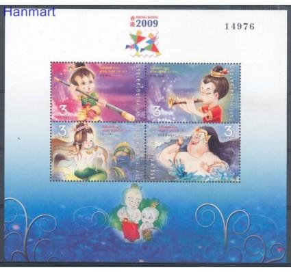 Znaczek Tajlandia 2009 Mi bl 232 Czyste **