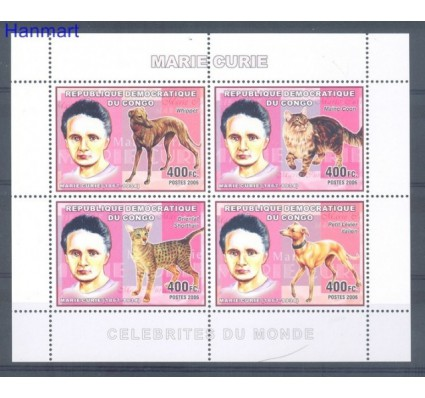 Znaczek Kongo Kinszasa / Zair 2006 Mi 2361-2364 Czyste **