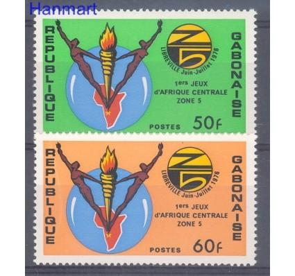 Znaczek Gabon 1976 Mi 592-593 Czyste **