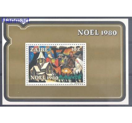 Znaczek Kongo Kinszasa / Zair 1980 Mi bl 39 Czyste **