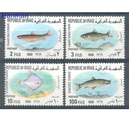 Irak 1969 Mi 548-551 Czyste **