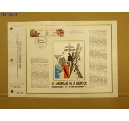 Znaczek Francja 1984 Mi 2444-2445 Pierwszy dzień wydania