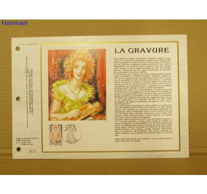 Znaczek Francja 1984 Mi 2448 Pierwszy dzień wydania