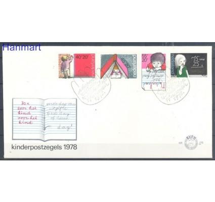 Znaczek Holandia 1978 Mi 1128-1131 FDC