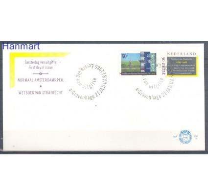 Znaczek Holandia 1986 Mi 1286-1285 FDC