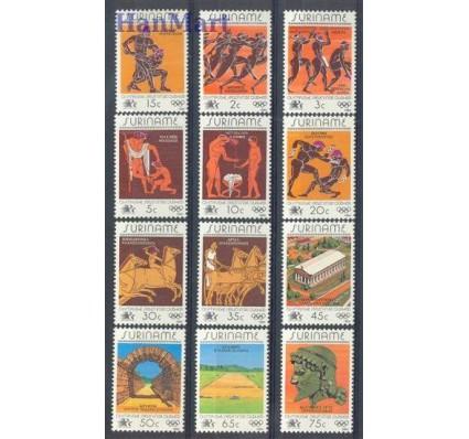 Znaczek Surinam 1984 Mi 1082-1093 Czyste **