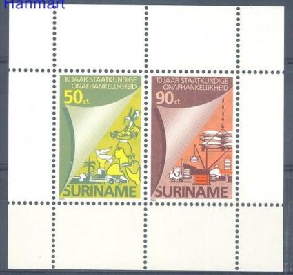 Znaczek Surinam 1985 Mi bl 42 Czyste **