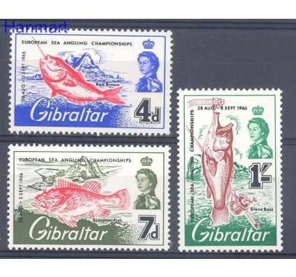Znaczek Gibraltar 1966 Mi 179-181 Czyste **