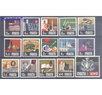 Znaczek Malta 1973 Mi 457-471 Czyste **