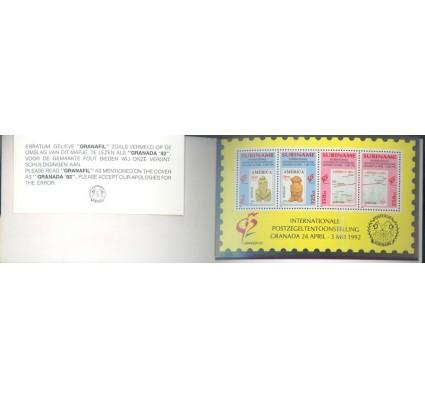 Znaczek Surinam 1992 Mi mhbl 57 Czyste **
