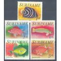 Surinam 1976 Mi 722-726 Czyste **