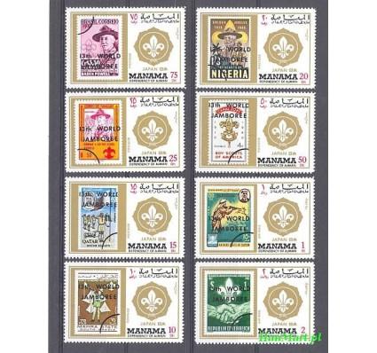 Manama 1971 Mi 549-556 Czyste **