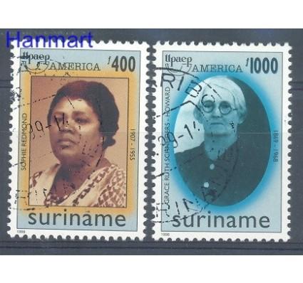 Znaczek Surinam 1998 Mi 1659-1660 Stemplowane