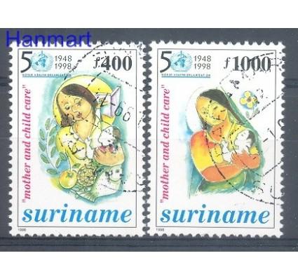 Znaczek Surinam 1998 Mi 1672-1673 Stemplowane
