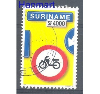 Znaczek Surinam 2003 Stemplowane