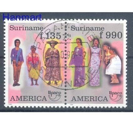Znaczek Surinam 1996 Mi 1565-1566 Stemplowane