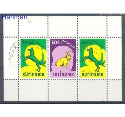 Znaczek Surinam 1977 Mi bl 20 Stemplowane