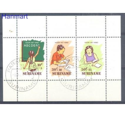 Znaczek Surinam 1985 Mi bl 41 Stemplowane