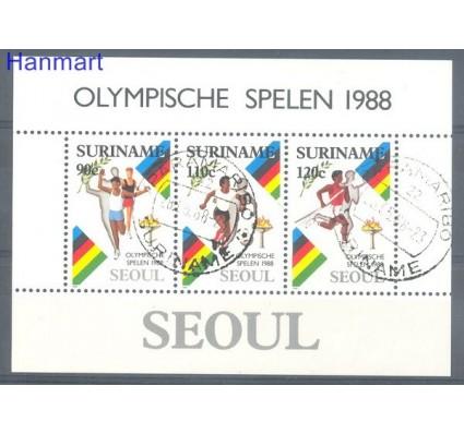 Znaczek Surinam 1988 Mi bl 47 Stemplowane