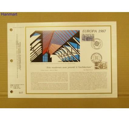 Znaczek Francja 1987 Mi 2603-2604 Pierwszy dzień wydania