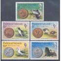 Falklandy 1975 Mi 240-244 Czyste **