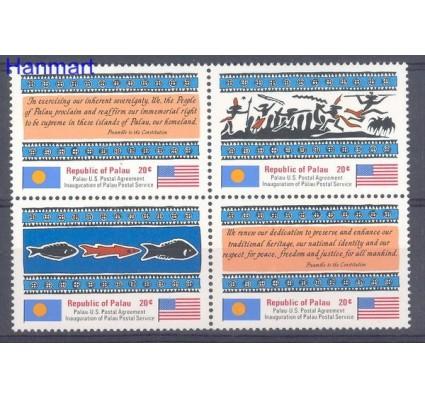 Palau 1983 Mi 1-4 Czyste **