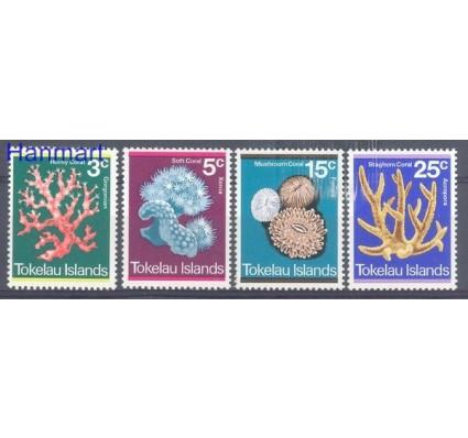 Tokelau 1973 Mi 30-33 Czyste **