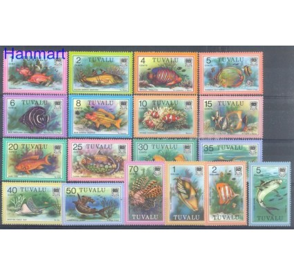 Znaczek Tuvalu 1979 Mi 83-100 Czyste **