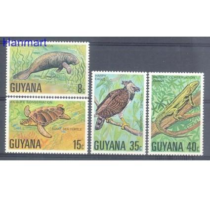 Znaczek Gujana 1978 Mi 530-533 Czyste **