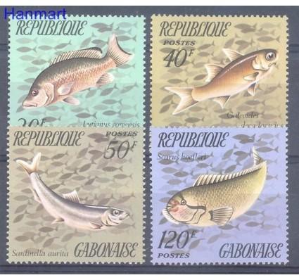 Znaczek Gabon 1975 Mi 565-568 Czyste **