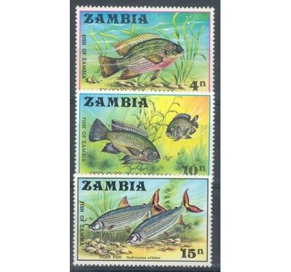 Znaczek Zambia 1971 Mi 74-76 Czyste **