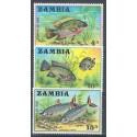 Zambia 1971 Mi 74-76 Czyste **