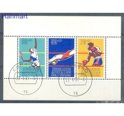 Znaczek Antyle Holenderskie 1981 Mi bl 16 Stemplowane
