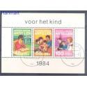 Antyle Holenderskie 1984 Mi bl 28 Stemplowane