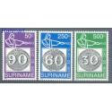 Surinam 1993 Mi 1450-1452 Czyste **