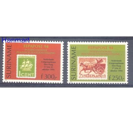 Znaczek Surinam 1994 Mi 1493-1494 Czyste **