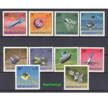 Manama 1968 Mi 87-96 Czyste **