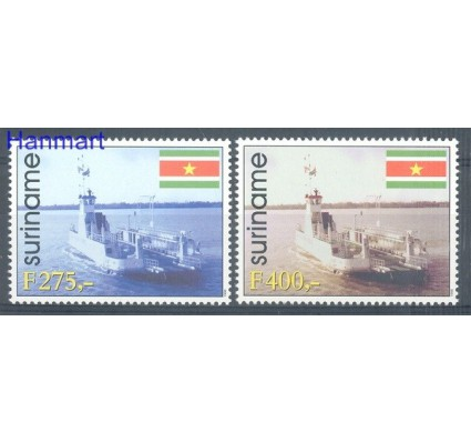 Surinam 1998 Mi 1664-1665 Czyste **