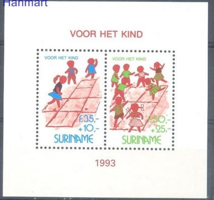 Znaczek Surinam 1993 Mi bl 61 Czyste **