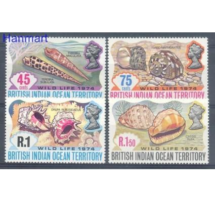 Znaczek Brytyjskie Terytorium Oceanu Indyjskiego 1974 Mi 59-62 Czyste **