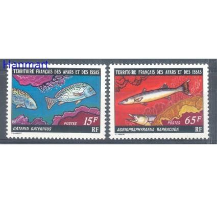 Znaczek Francuskie Terytorium Afarów i Issów 1977 Mi 167-168 Czyste **