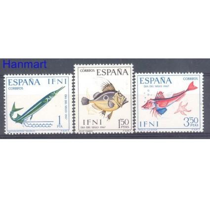 Znaczek IFNI 1967 Mi 259-261 Czyste **