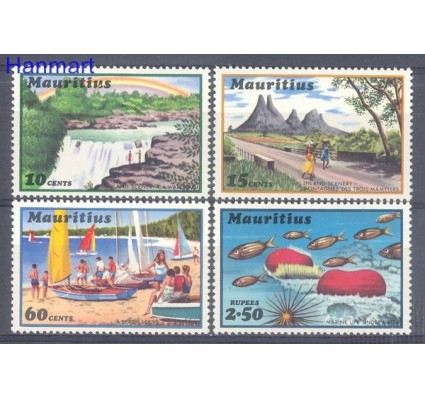Znaczek Mauritius 1971 Mi 373-376 Czyste **