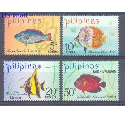 Znaczek Filipiny 1972 Mi 1009-1012 Czyste **