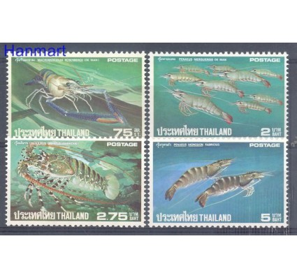 Tajlandia 1976 Mi 799-802 Czyste **