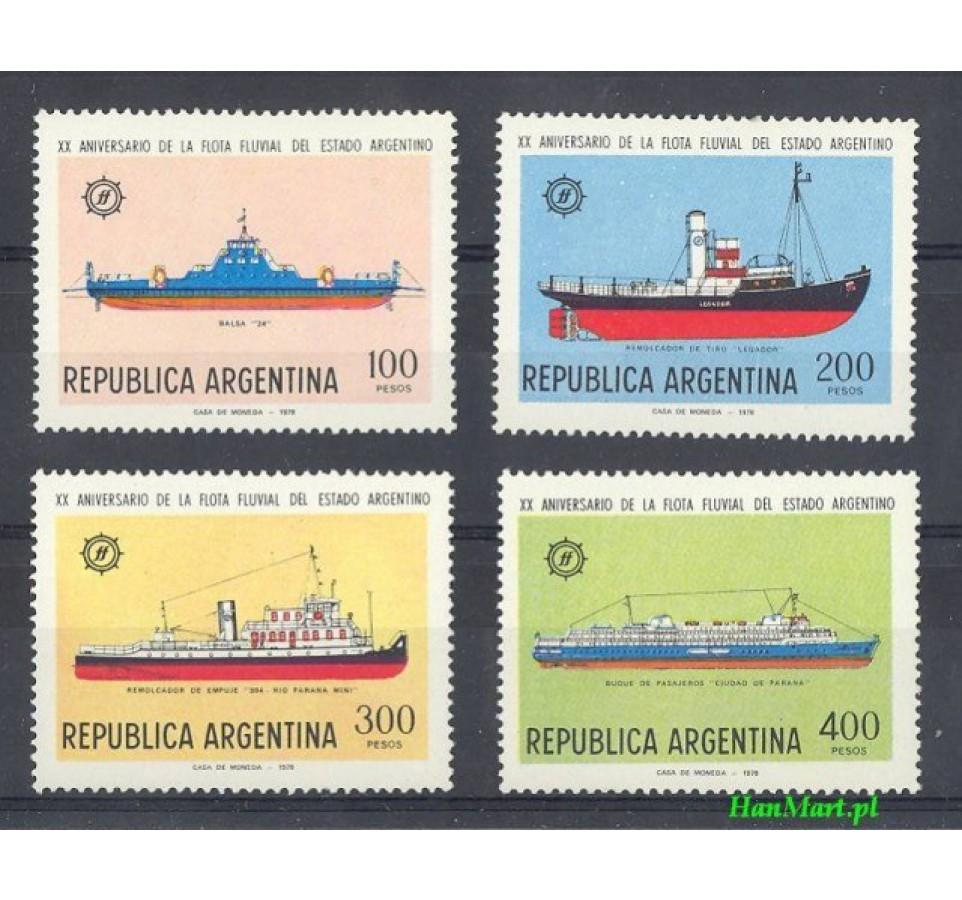 Argentyna 1978 Mi 1364-1367 Czyste **