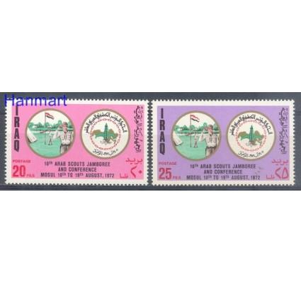 Znaczek Irak 1972 Mi 743-744 Czyste **