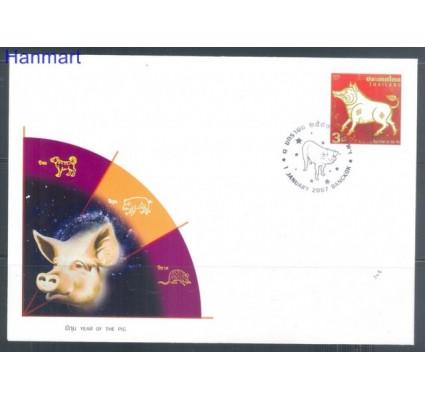 Znaczek Tajlandia 2007 Mi 2485 FDC