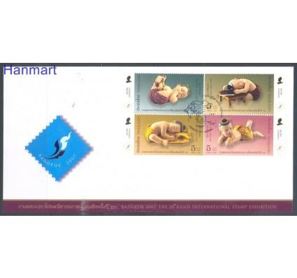 Tajlandia 2007 Mi 2499-2502 FDC